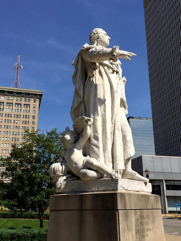 King Louis XVI of France - the namesake of Louisville