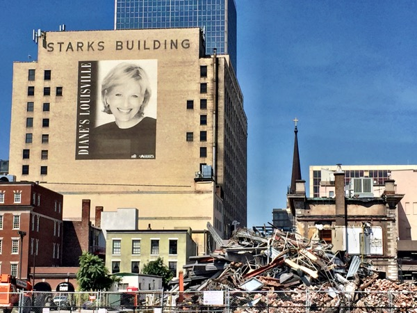 Louisville old, new, and in transition.