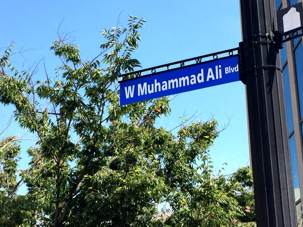 Muhammad Ali was from here. Beyond a street named after him, there's also a large Ali museum.