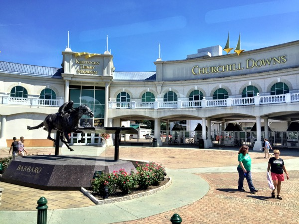Churchill Downs - home to the Kentucky Derby