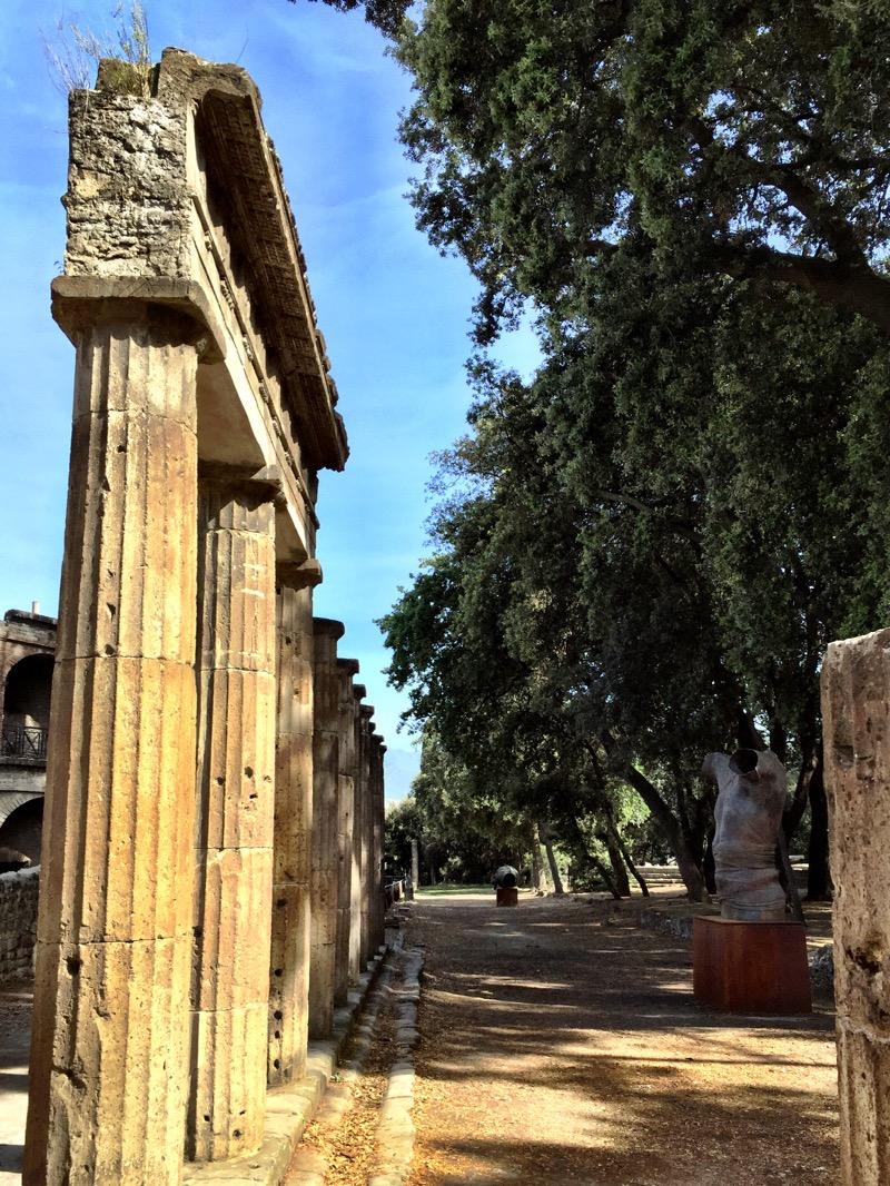 Columns at Pompei