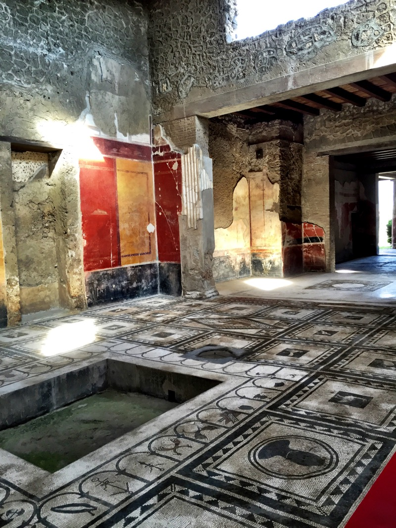 A home in Vesuvius with incredible tiled floors