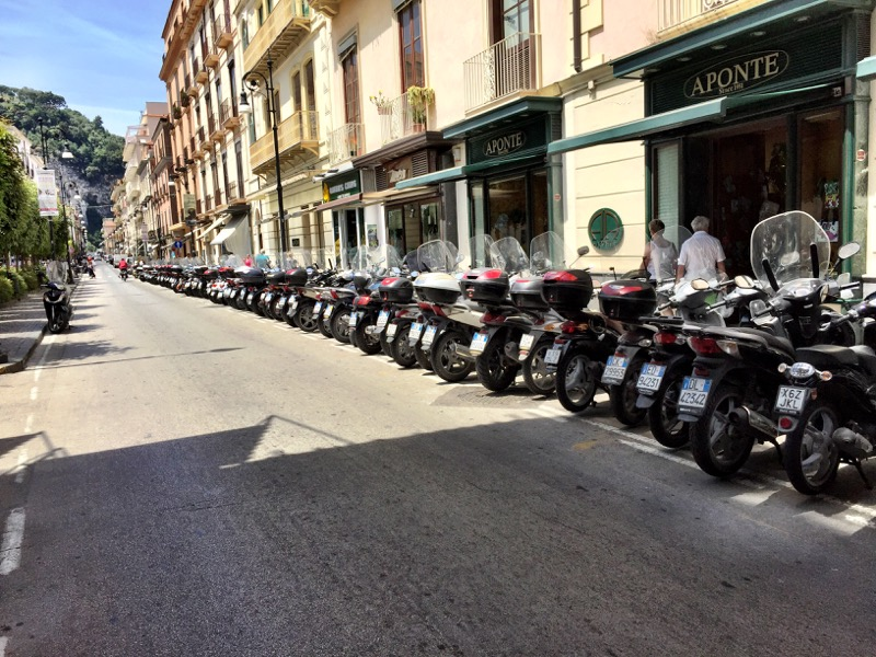 Motorcycles galore