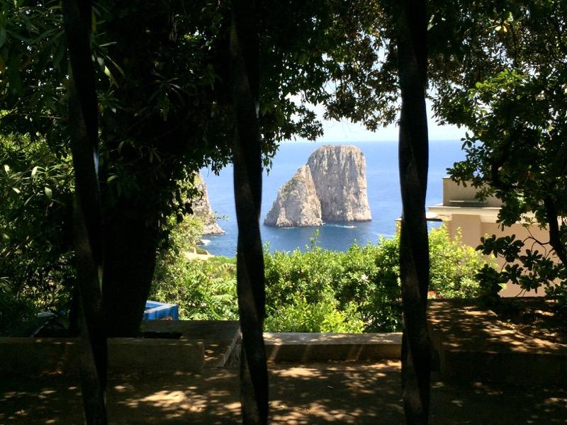 I Faraglione from Giardini di Augusto