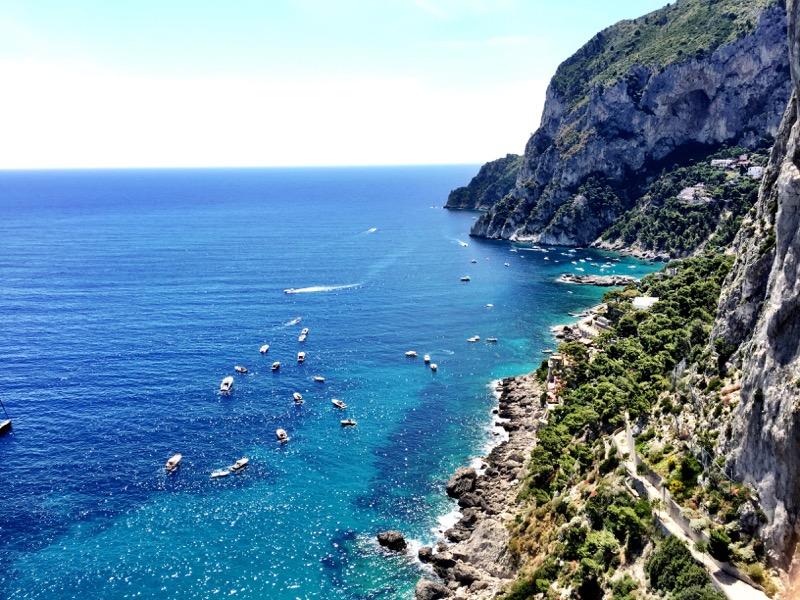 Marina Piccola on Capri