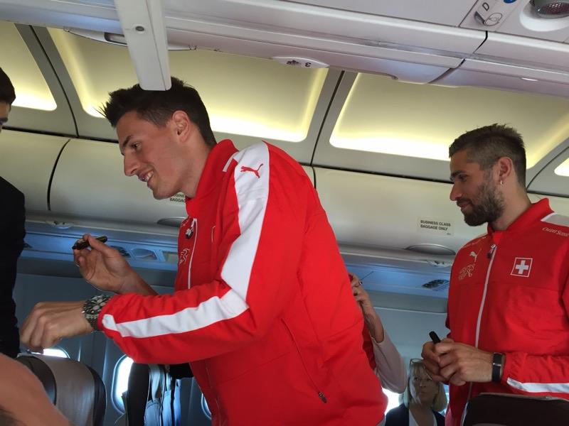 Hunky Swiss footballers