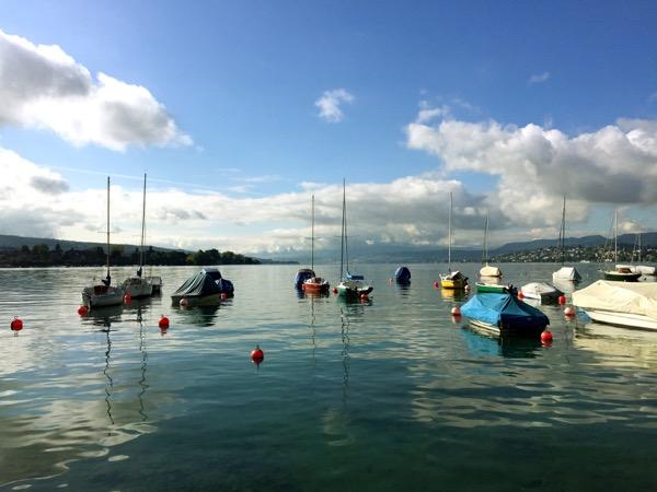 Morning calm on Lake Zürich