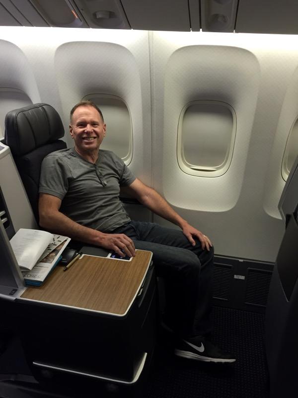 Clint, all set for our trans-Atlantic flight.