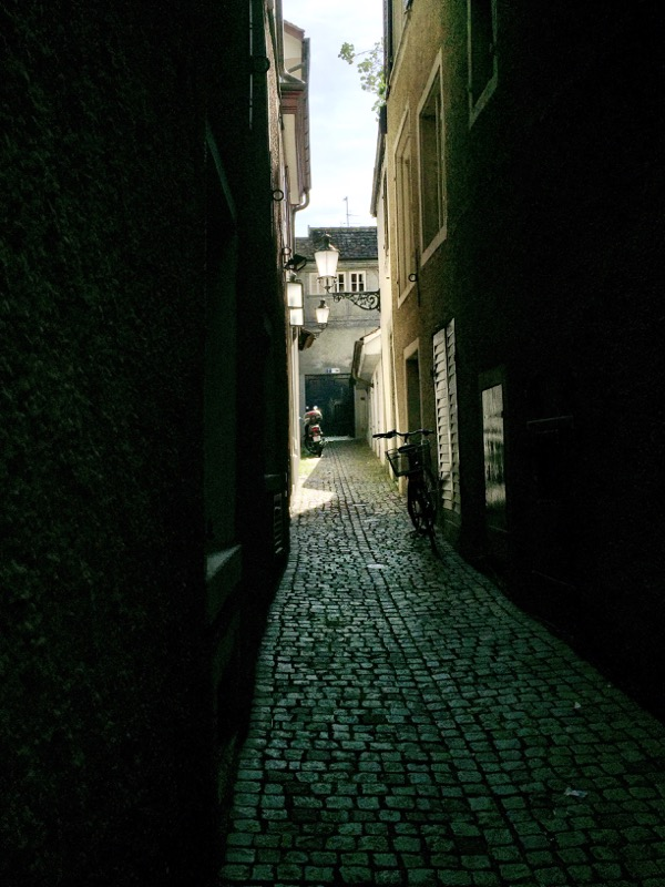 Interesting alleyways everywhere we turned in the old city